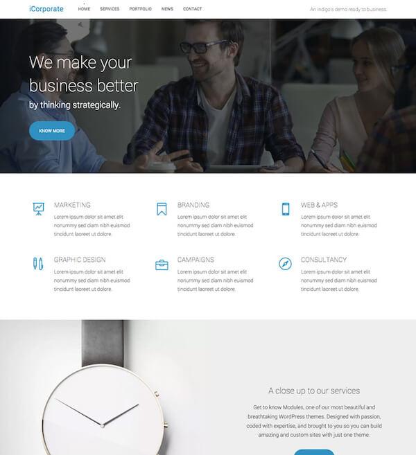 Corporate Template - Artisan Themes