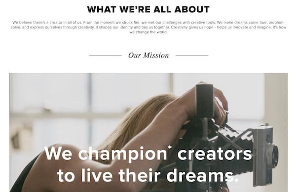 CreativeLive About Page