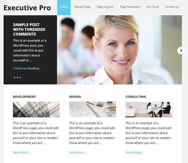 Executive Pro - Genesis Framework