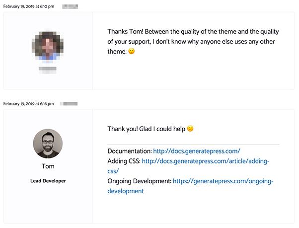 GeneratePress Forum 1