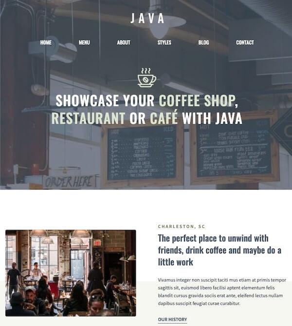 Java Template
