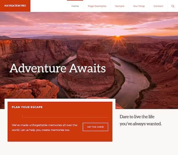 Navigation Pro Theme - StudioPress