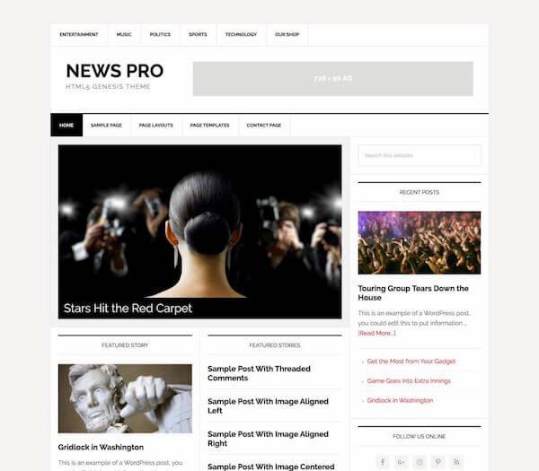 News Pro Theme - StudioPress
