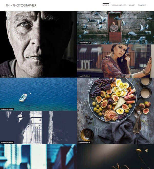 PH Photographer - Nayma Theme (Artisan Themes)