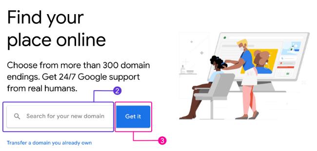 Google Domains Site