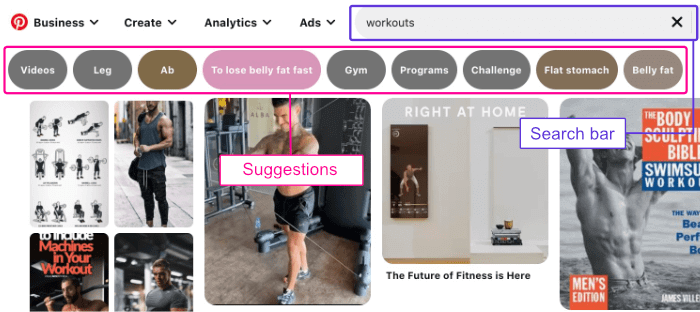 Pinterest keyword research
