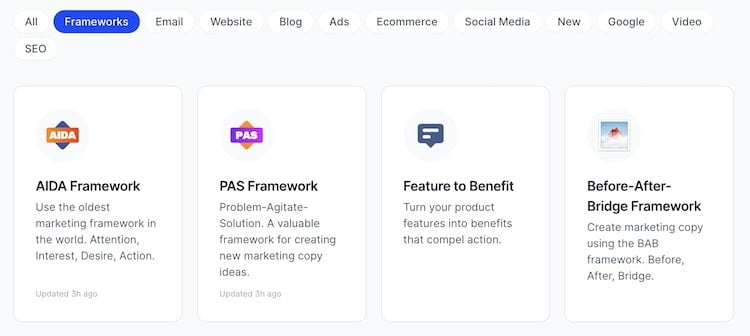 Marketing Frameworks by Jarvis